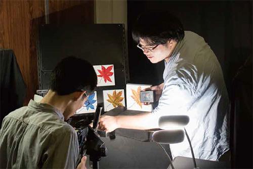 コミュニケーションデザイン科学コース写真