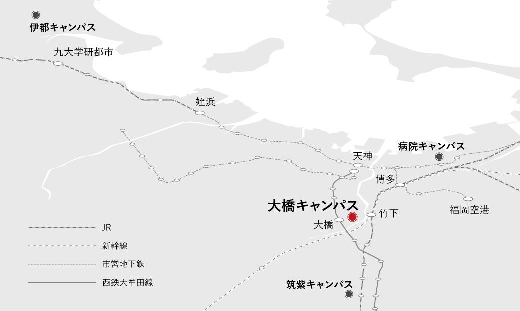 福岡市内MAP